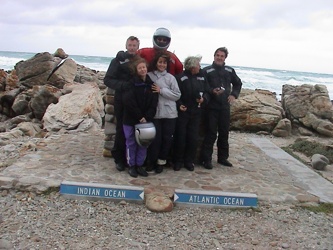Cape Aghulas, the southernmost point of Africa