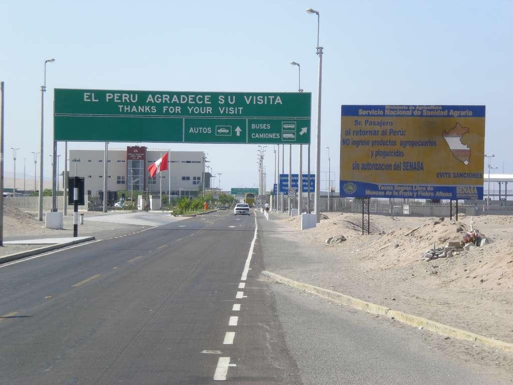 Peru bedankt sich für meinen Besuch