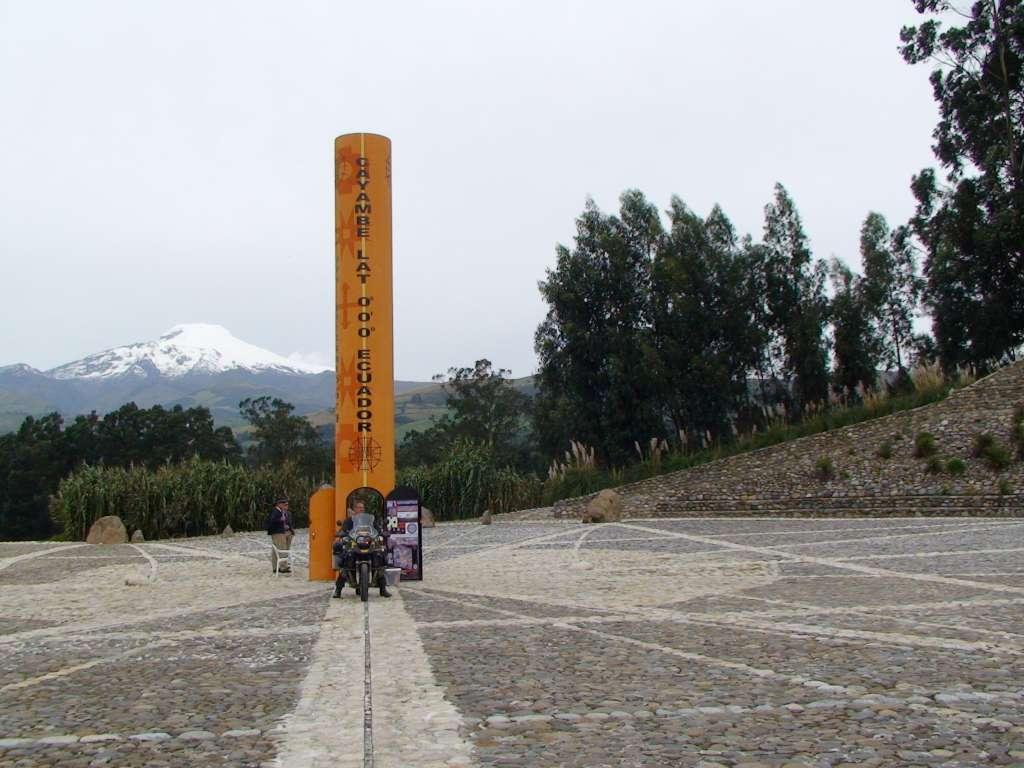 Äquator bei Cayambe