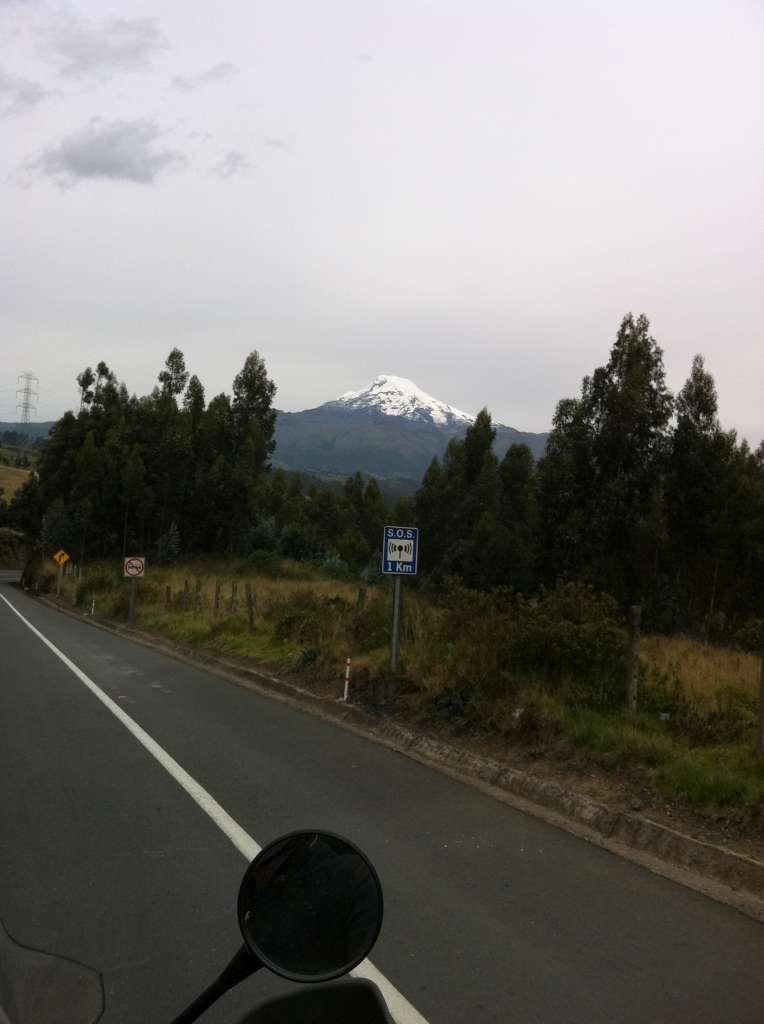 auf dem Weg nach Quito