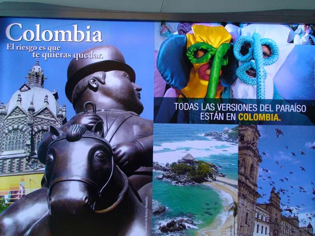 """""""Kolumbien, das Risiko ist, dass du bleiben möchtest"""