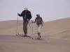 Langlauftraining in der Namib