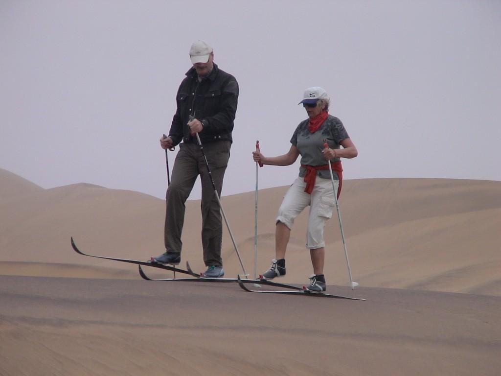 Langlauf in der Wüste