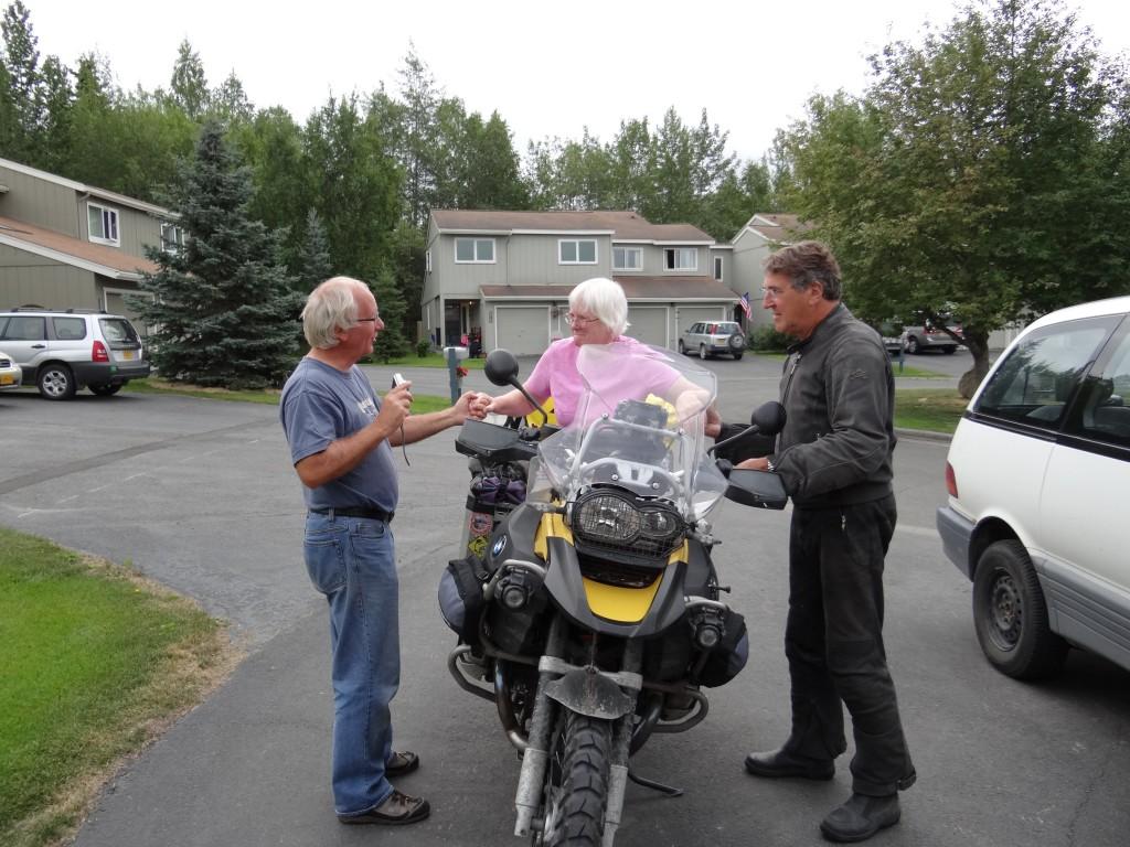 endgültiger Abschied von Kerry & Fred und Anchorage