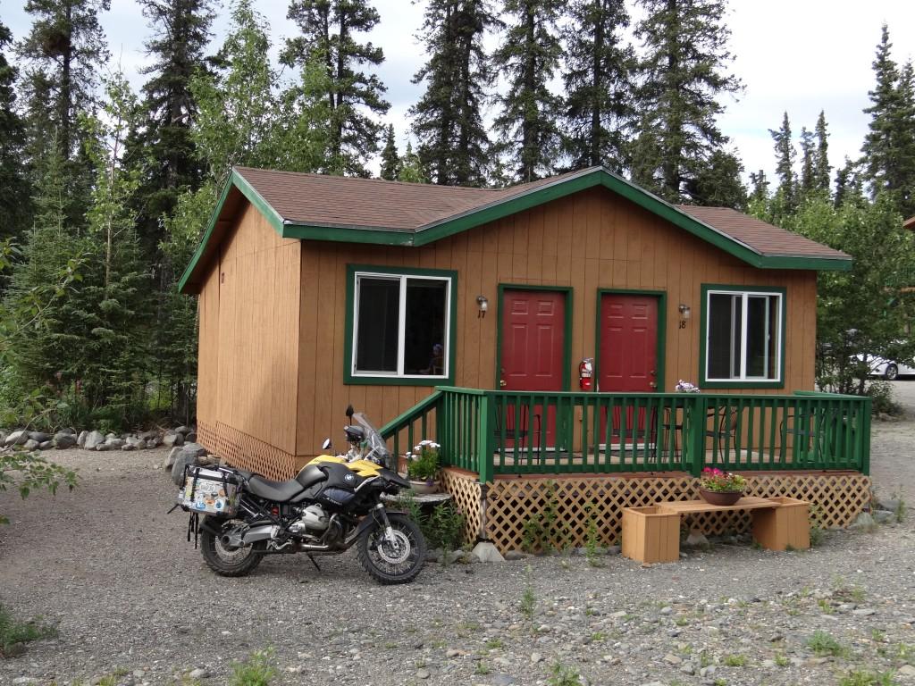 Unsere McKinley Creekside Cabin. direkt am Gebirgsbach