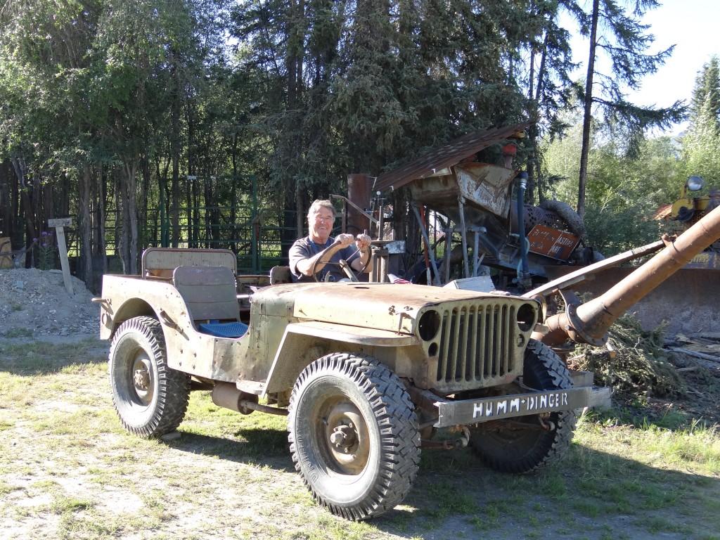 Traum meiner Kindertage, ein Willys 1944