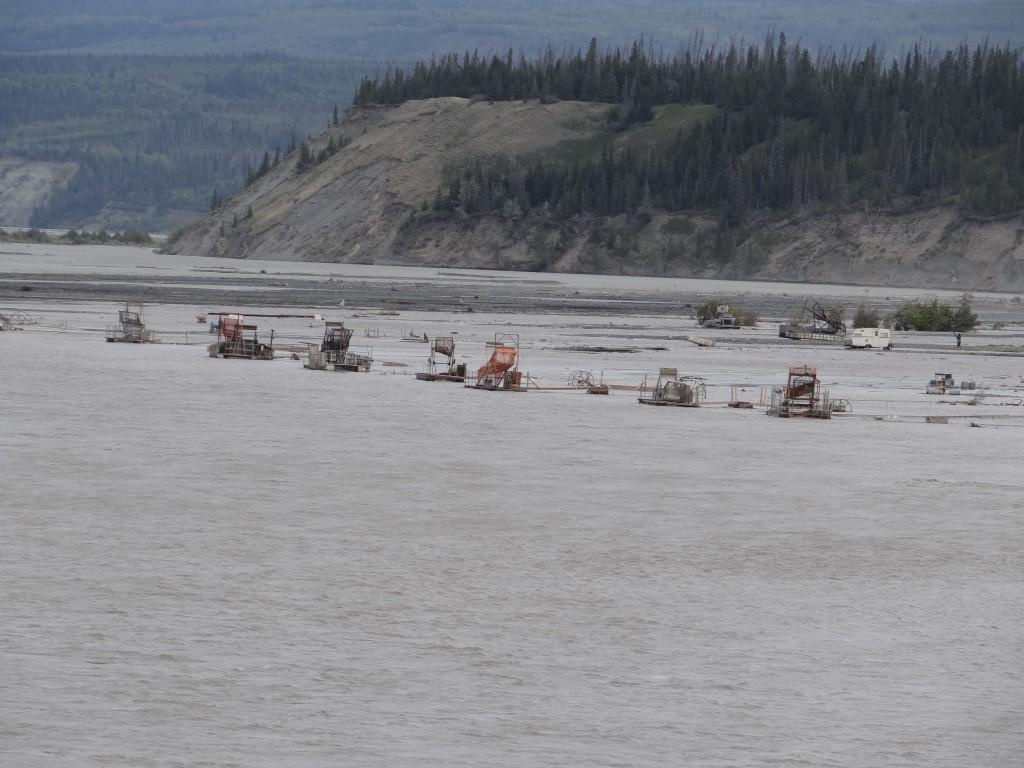 automatisierter Fischfang im Copper River