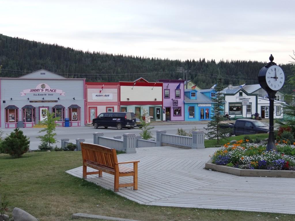 die Frontstreet von Dawson City