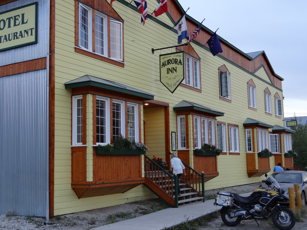 Aurora, unser Hotel in Dawson City