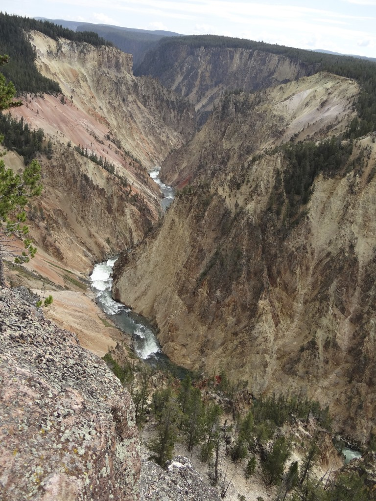 Grand Canyon mit Yellowstone River