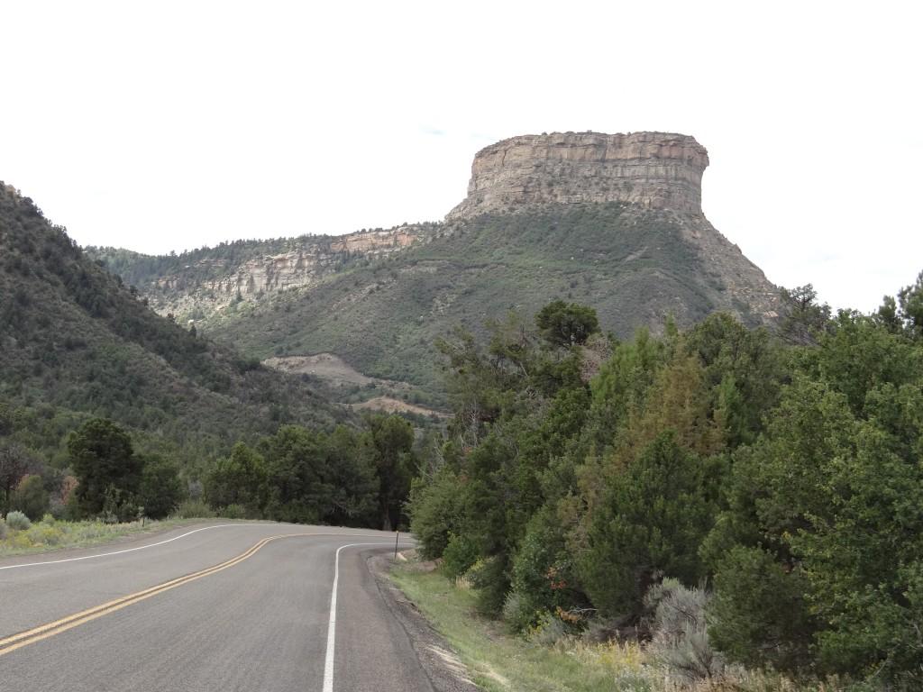 Fahrt nach Mesa Verde