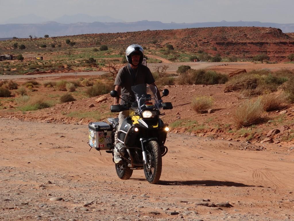 auch so kann man sich Monument Valley erschließen