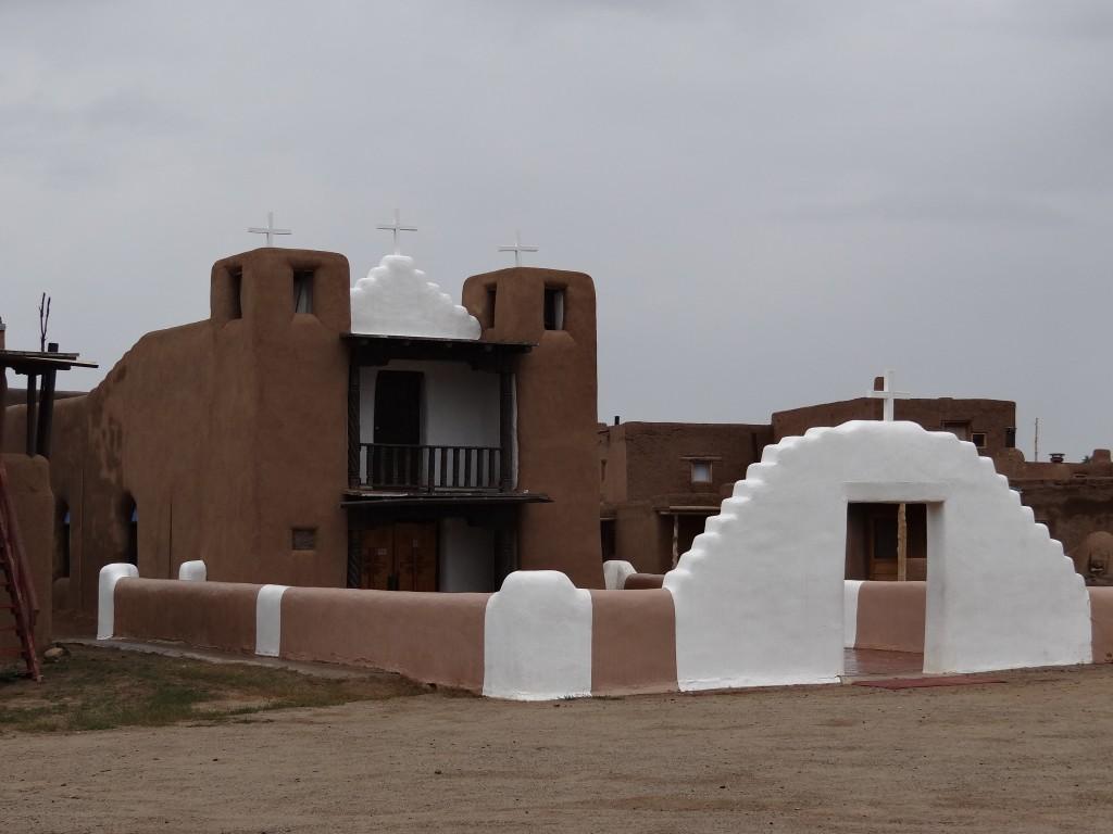 Kirche von Taos Pueblo