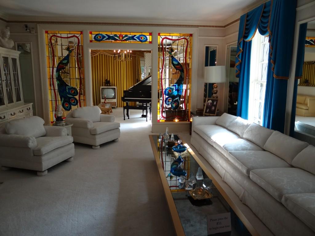 Elvis' Wohnzimmer