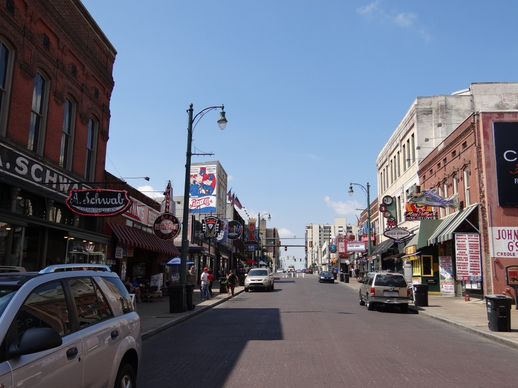 Beale Street, Downtown