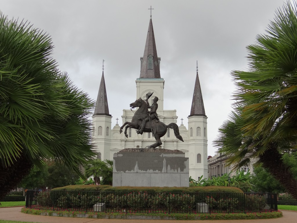Jackson Square mit St. Louis Cathedral