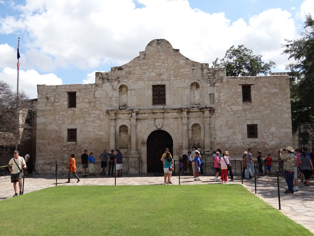 The Alamo, ein ehemaliges Fort