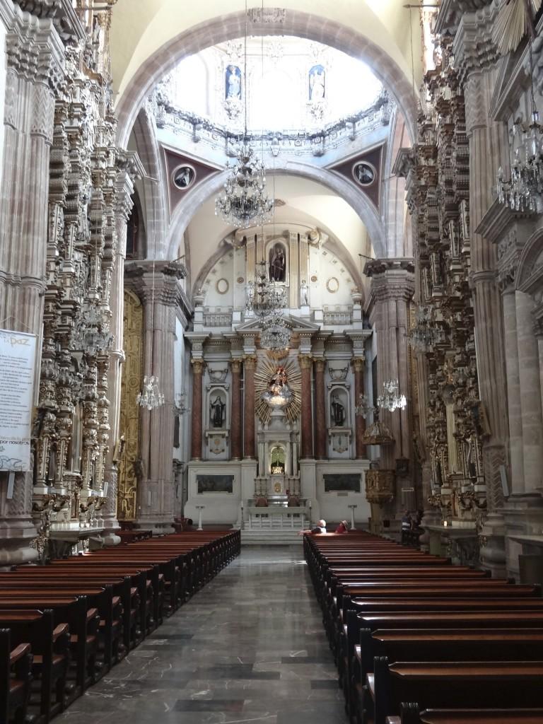 Innenansicht des Templo del Carmen