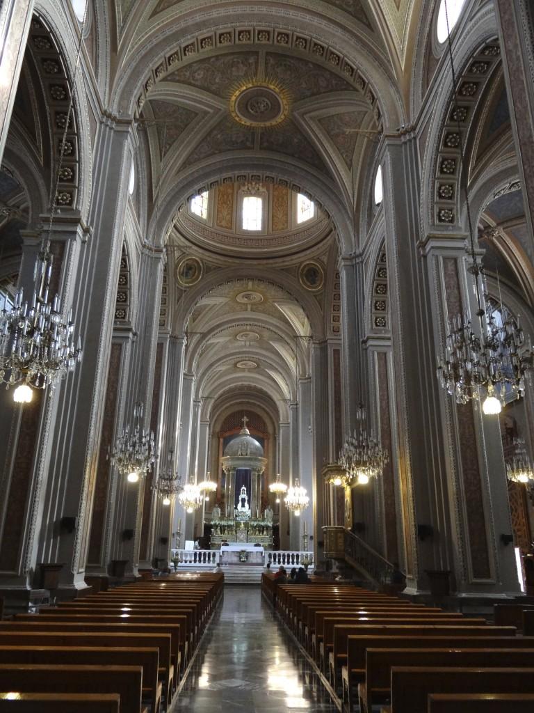 Innenansicht der Kathedrale von Morelia