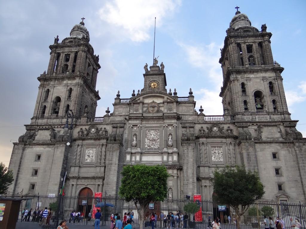Kathedrale von México City