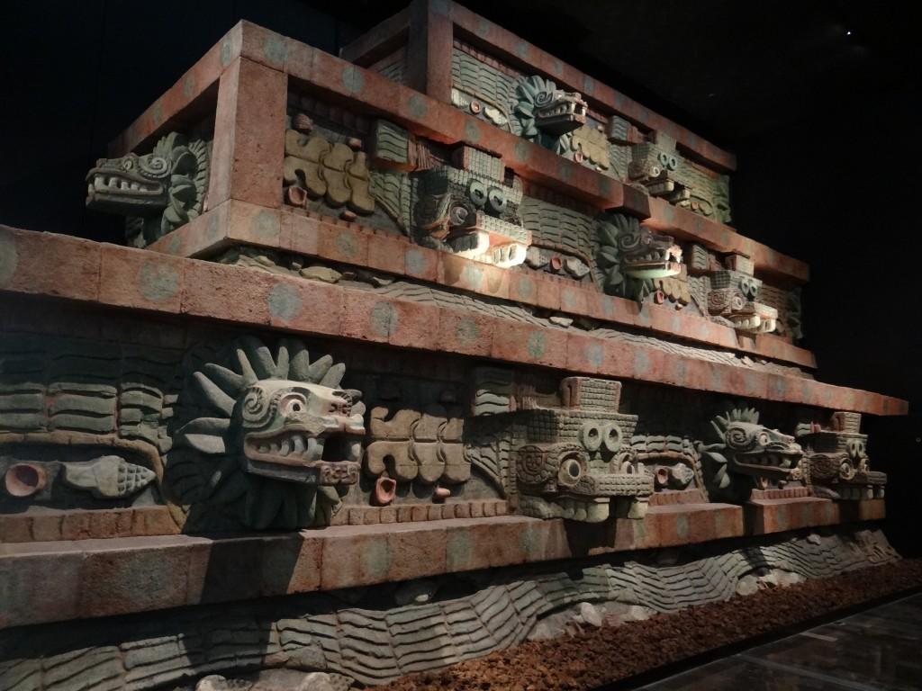 aus der Tempelanlage in Teotihuacán