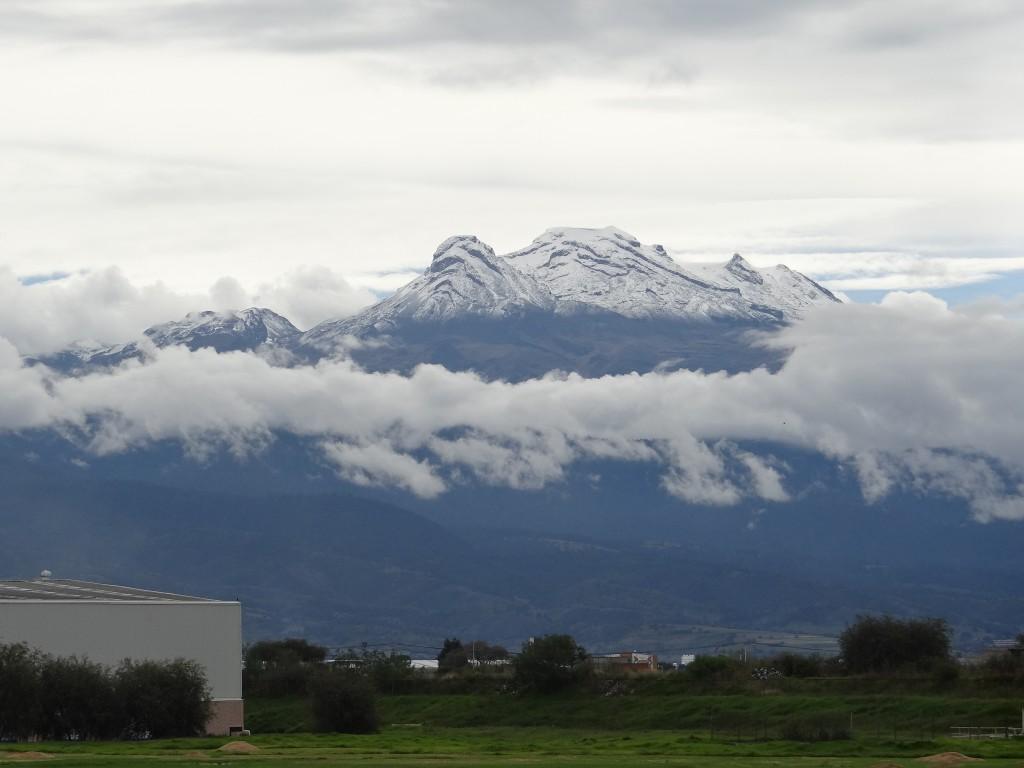 Iztaccíhuatl 3.-höchster Berg Mexikos