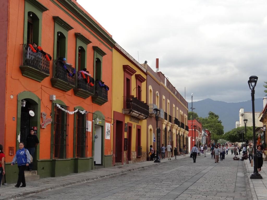 typische Häuserzeile in der historischen Altstadt