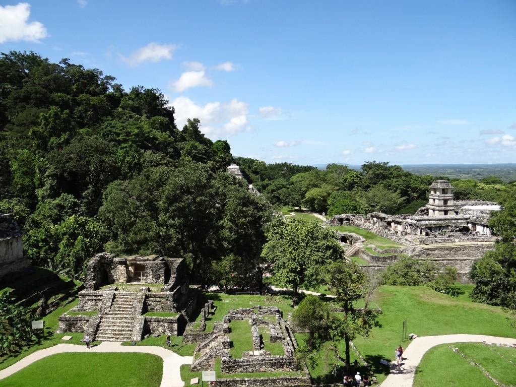 Tempelanlage von Palenque