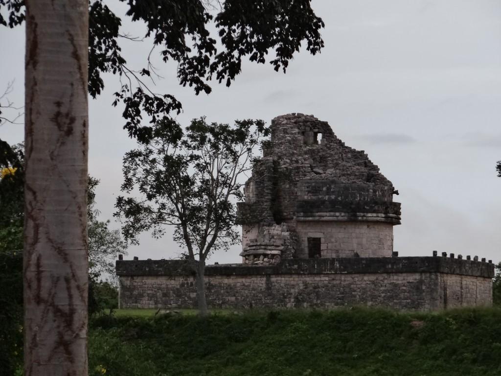 Observatorium der Maya-Anlage