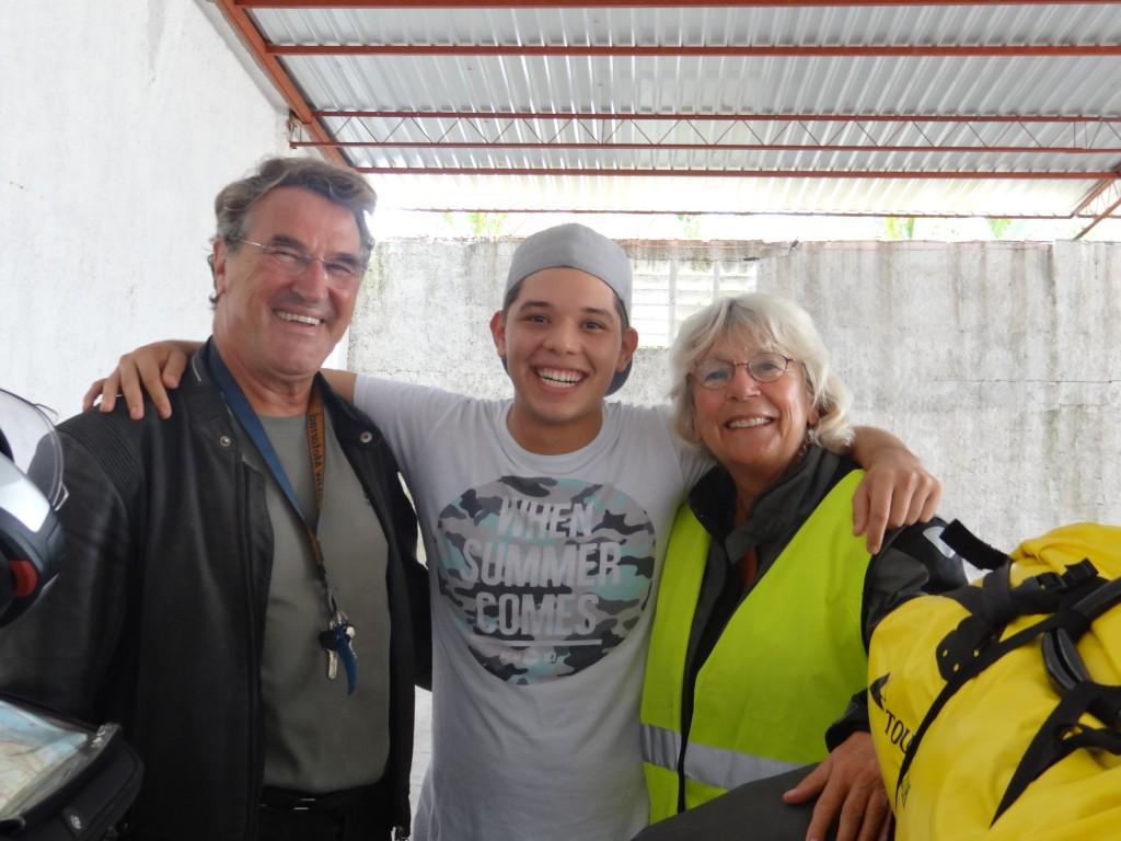 …. der uns würdig aus Mexiko verabschiedet