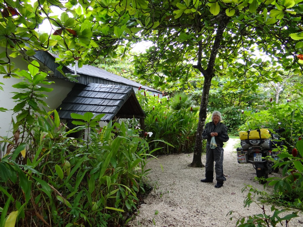 unser Dschungel-Hotel in Belize