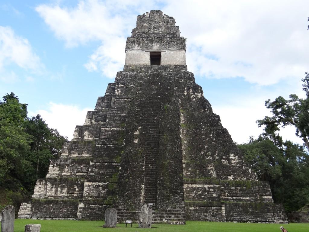 """Templo I, der """"Tempel des Großen Jaguar"""""""