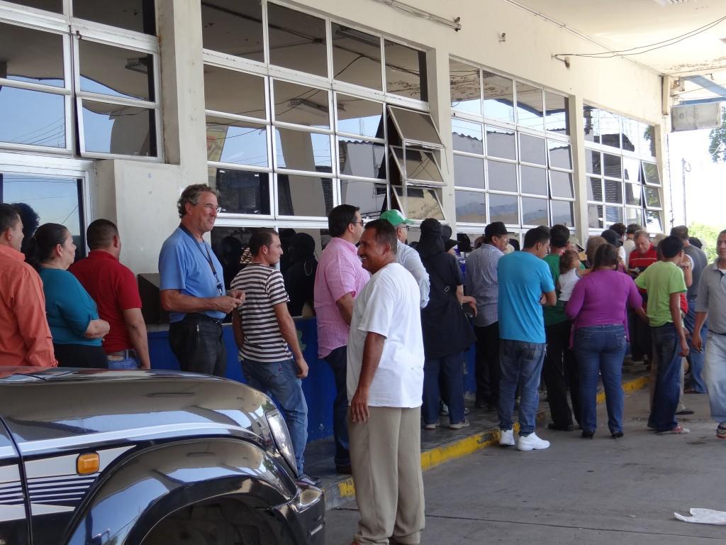 Grenze El Salvador - Hoduras