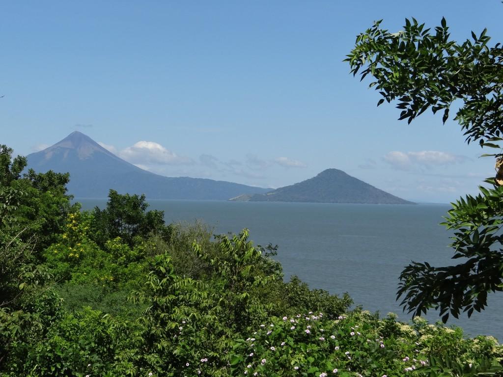 Vulkane am Lago Managua