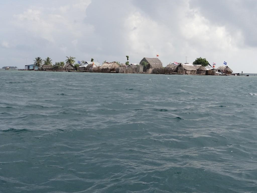 Die erste bewohnte Insel