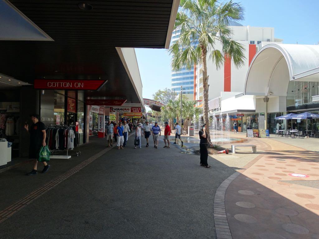 The Mall, Darwins Fußgängerzone