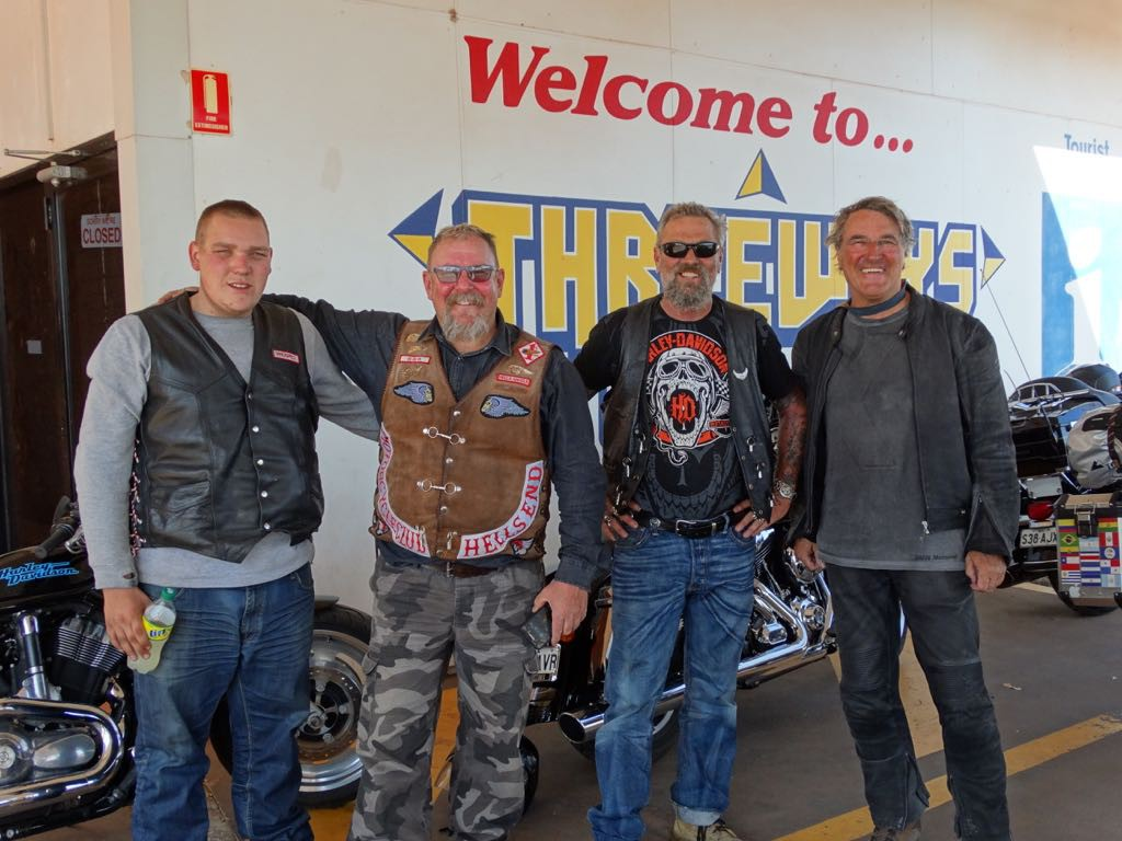 Harley Rider aus Adelaide